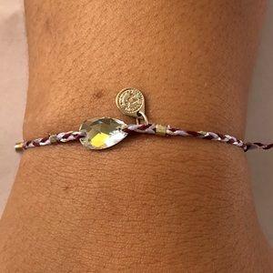 Alex and Ani Precious Threads Swarovski bracelet